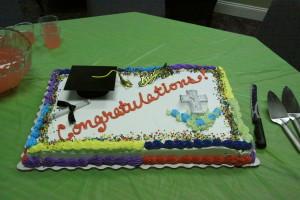 Graduation honoring 2015